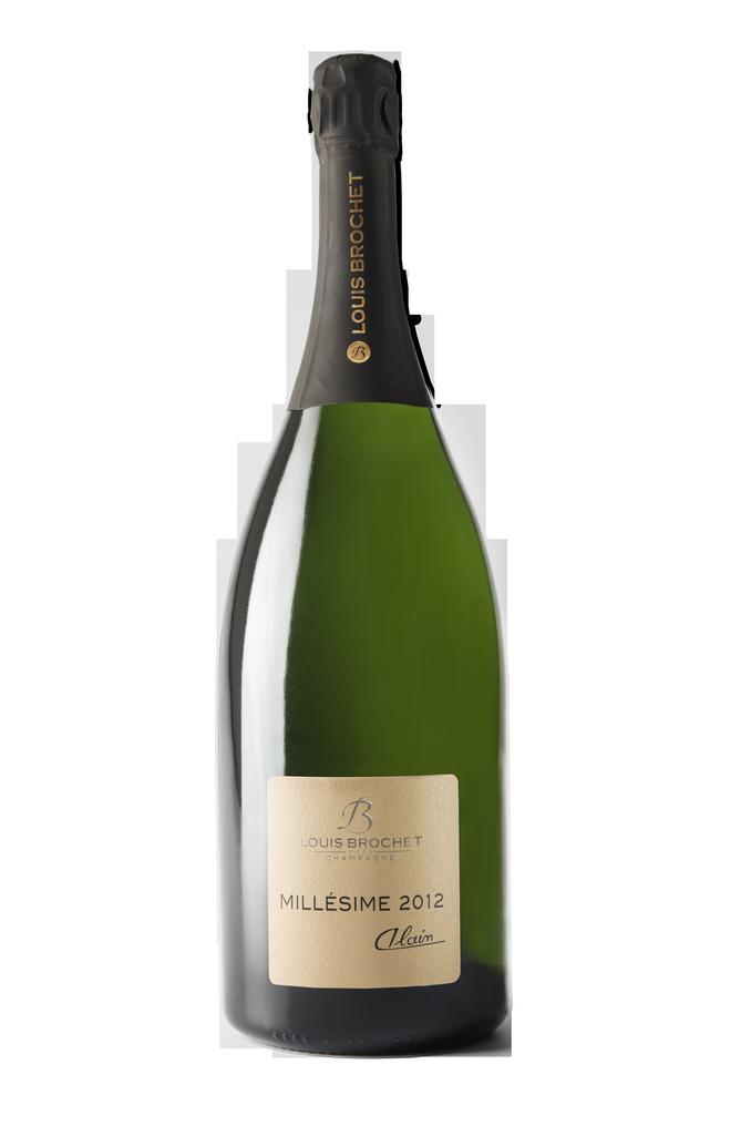 Louis Brochet - champagne Alain millésime 2012