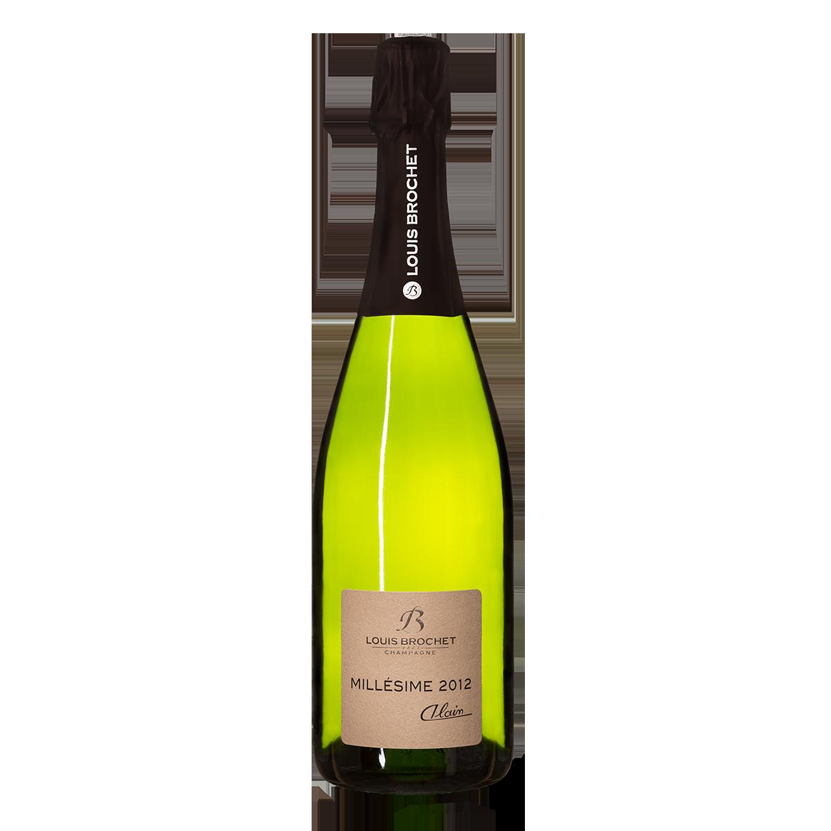 champagne alain millésime 2012