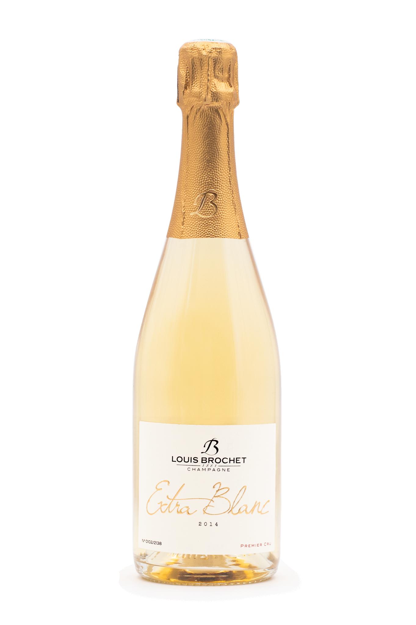 Champagne Extra Blanc 2014 1er Cru Louis Brochet